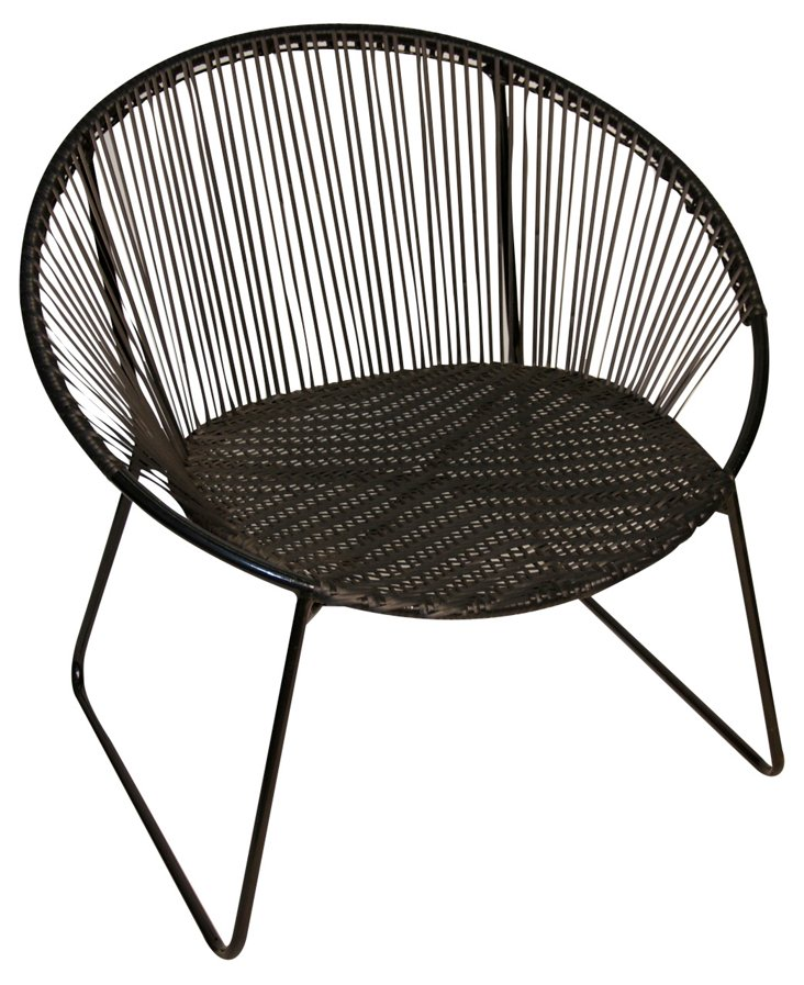 Antigua Chair, Black
