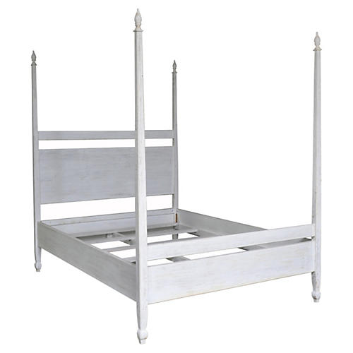Venice Bed, White