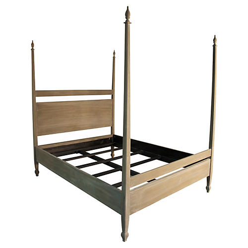 Natural Venice Bed, Queen