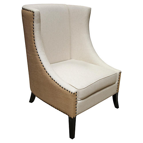 Aiden Wingback Chair