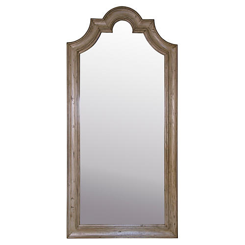 Versailles Leaner Mirror, White Oak