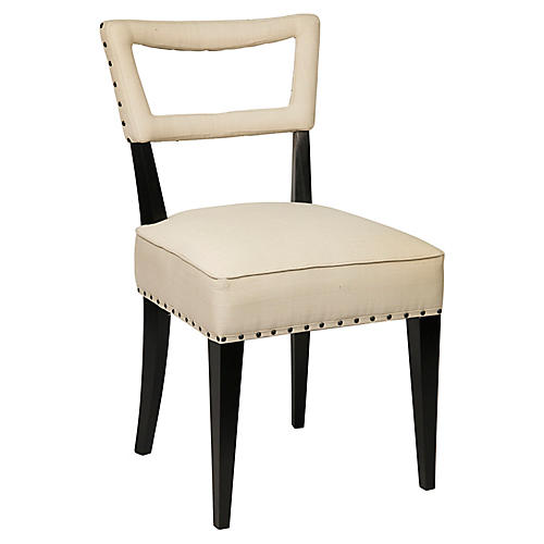 Argento Side Chair, Black