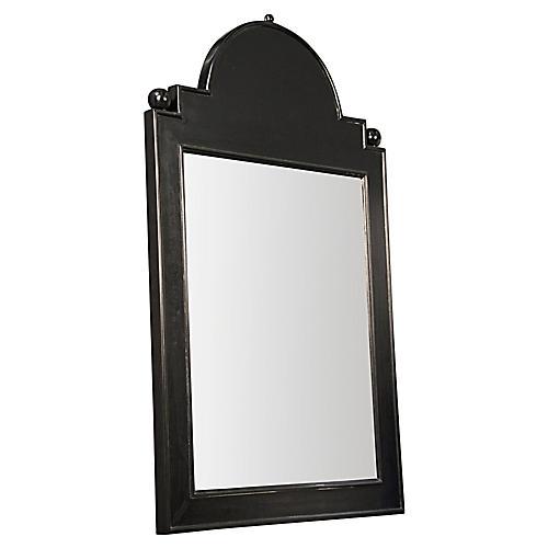 """Jess 26""""x41"""" Mirror, Black"""