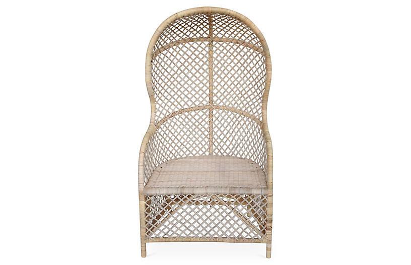 Gigi Canopy Chair, Beige