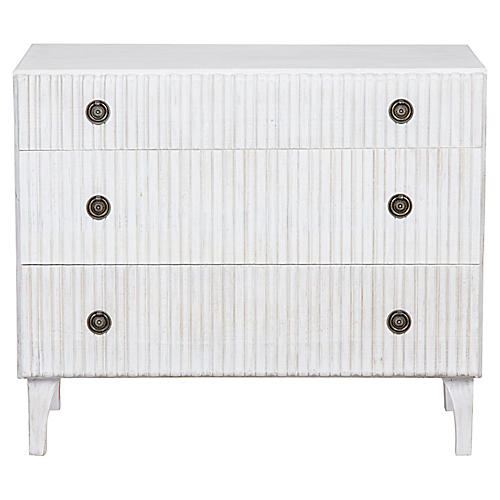 Daryl Mahogany Dresser, Whitewash