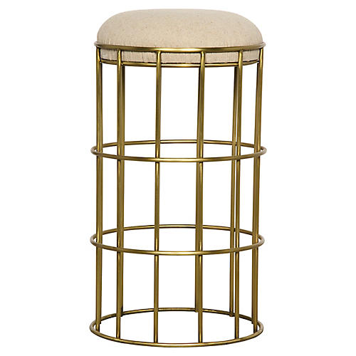 Ryley Counter Stool, Gold