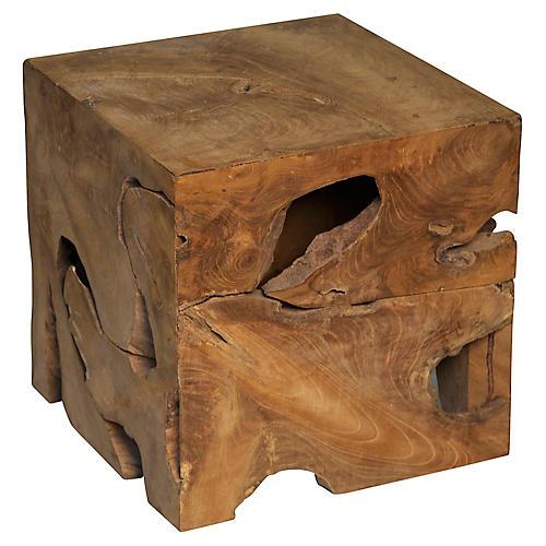 Vert Side Table, Natural
