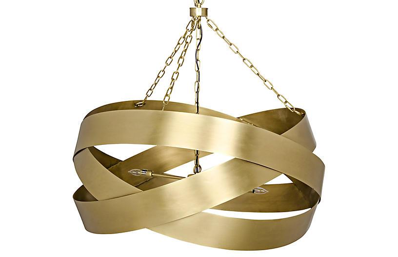 Orion Pendant, Brass