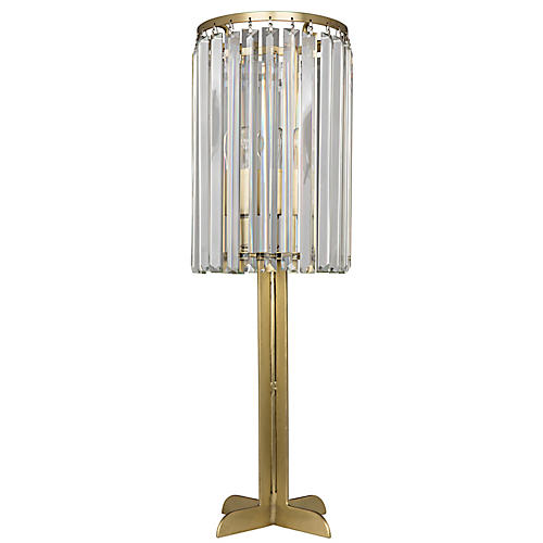 Shala Table Lamp, Antiqued Brass