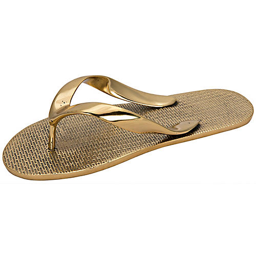 "9"" Sandal Accent, Brass"