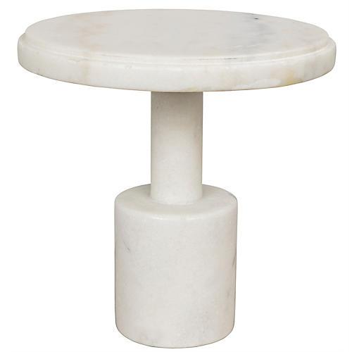 """10"""" Plato Cake Tray, White"""