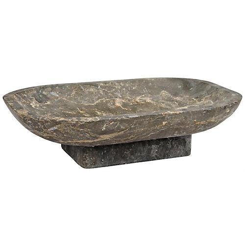 """20"""" Renita Decorative Bowl, Gray/Multi"""