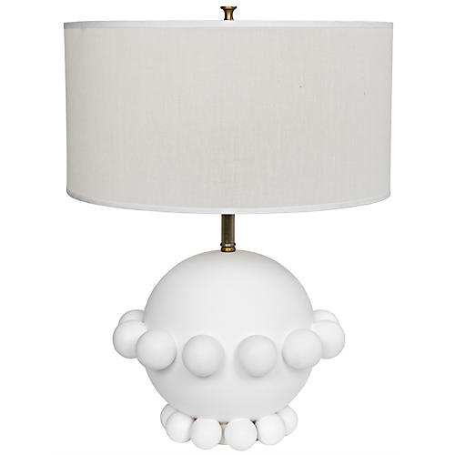 Scepter Table Lamp, White