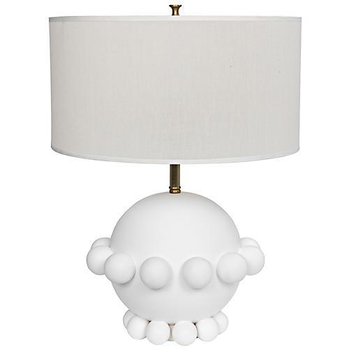 Scepter Table Lamp, White