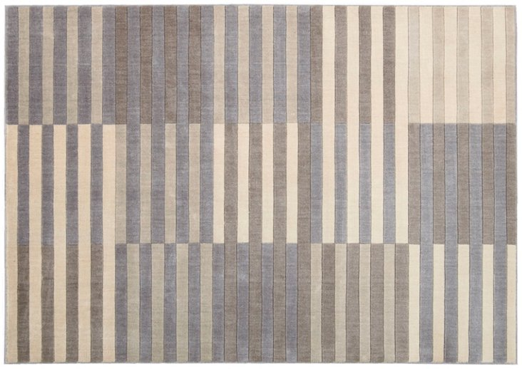 Chase Rug, Cream/Stone/Brown