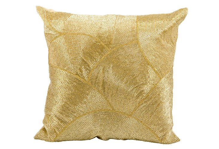 Sequin 20x20 Pillow, Gold