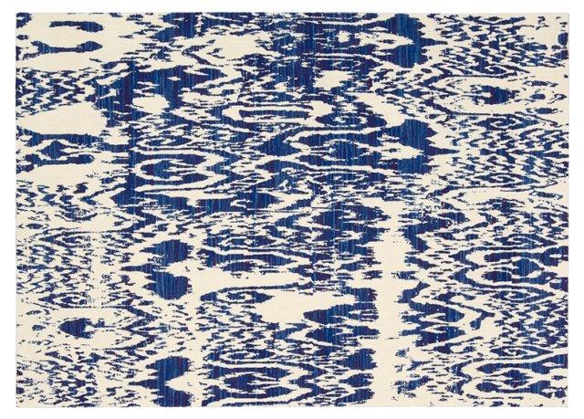 Aldean Rug, Caravan Blue