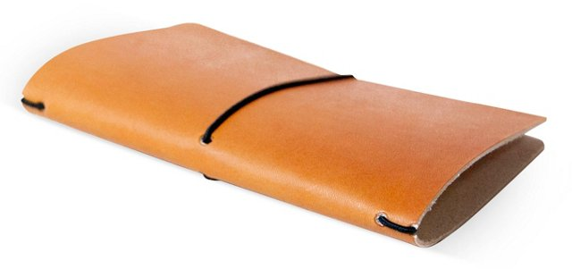 Leather Field Notebook Cover, Saddle