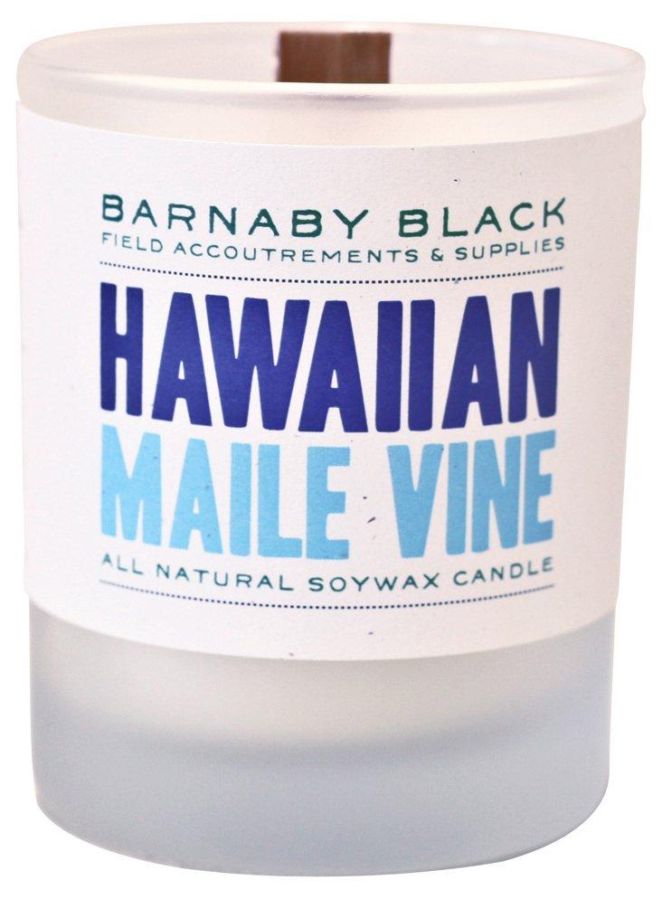 Whiskey Tumbler Candle, Maile Vine