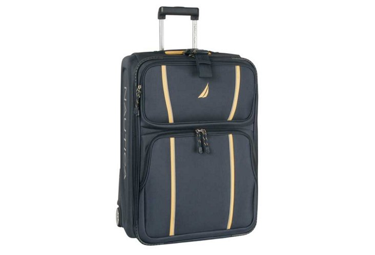 """Starboard 21"""" Rolling Case, Navy/Yellow"""
