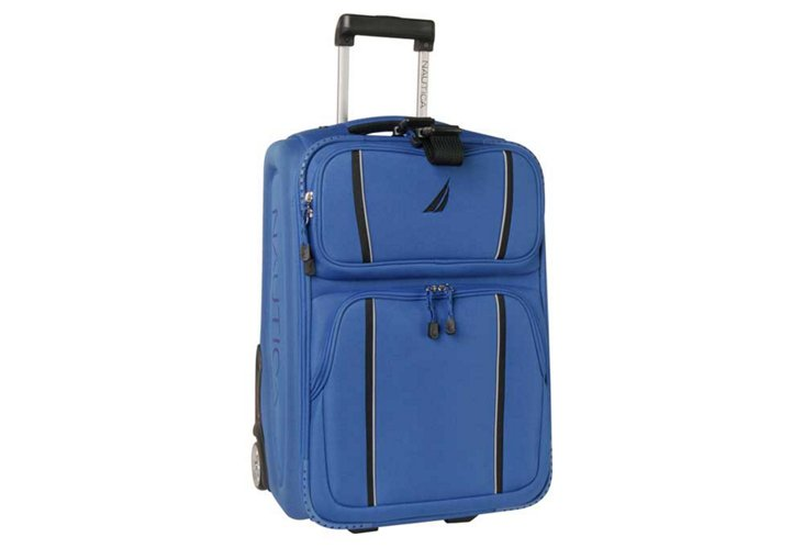 "Starboard 21"" Rolling Case, Blue/Black"
