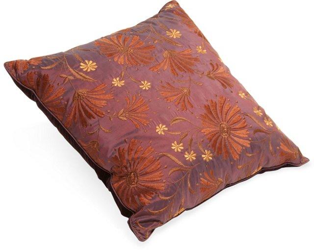 Mark Snider Purple Pillow