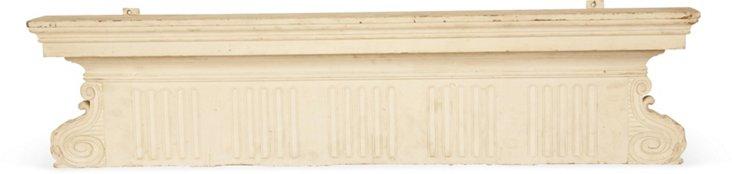 Beaux-Arts Carved Lintel