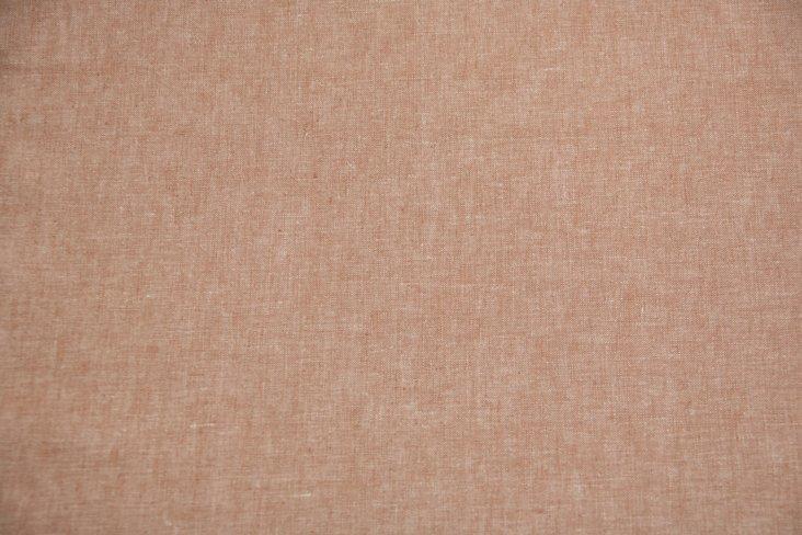 Pale Terracotta Linen, 3 Yds.