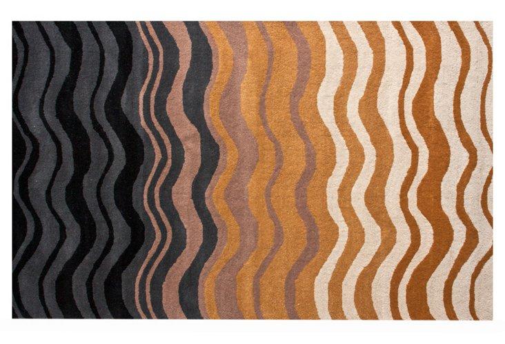 Horizon Rug, Black/Brown