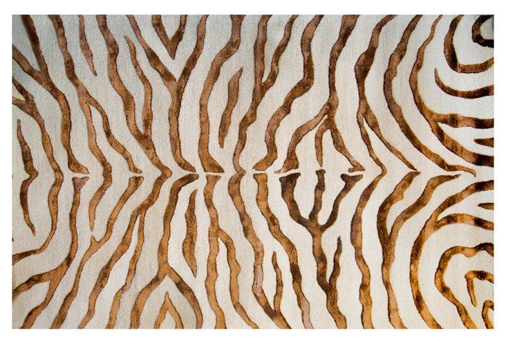 Nyala Rug, Brown/Sand