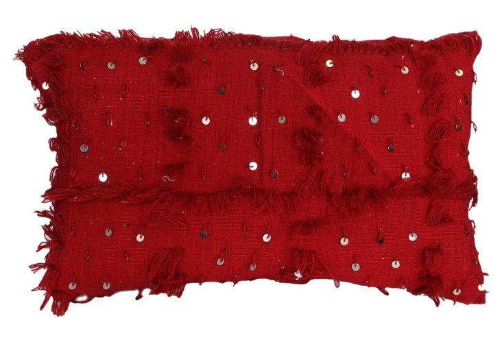 Cordelia 18x30 Pillow, Red