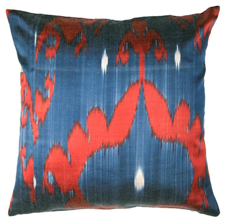 Medallion 18x18 Pillow, Blue
