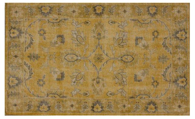 Stephen Flat-Weave Rug, Gold