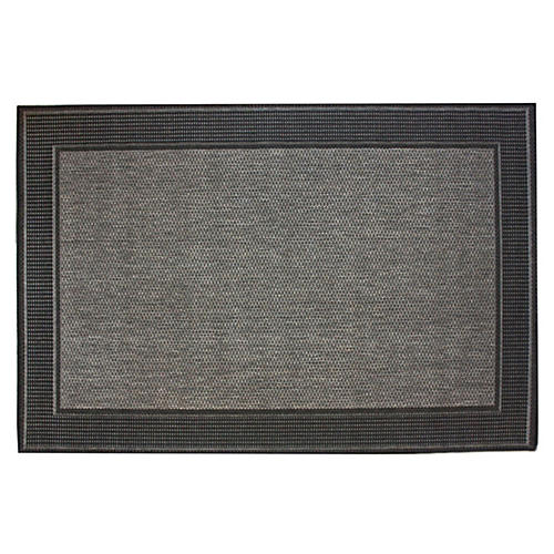 Hale Outdoor Rug, Gray