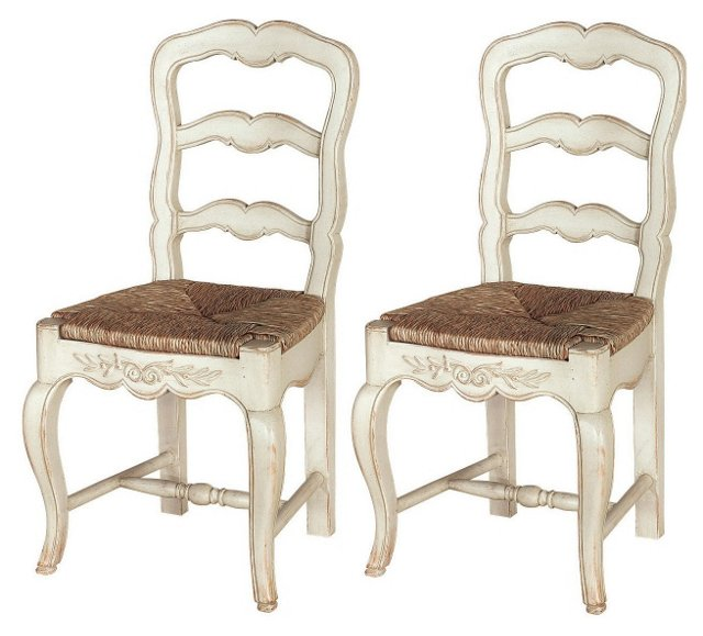 Lucas Dining Chairs, Pair