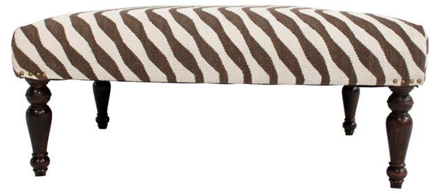 Safari Kilim Bench
