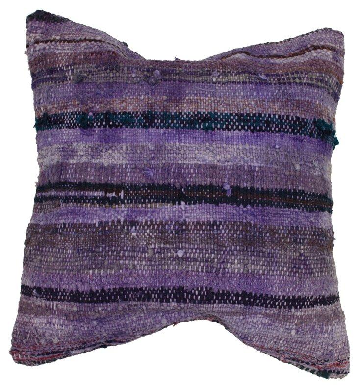 Overdyed 20x20 Pillow, Purple
