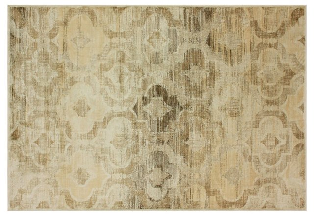 """5'3""""x7'6"""" Willow Rug, Natural"""
