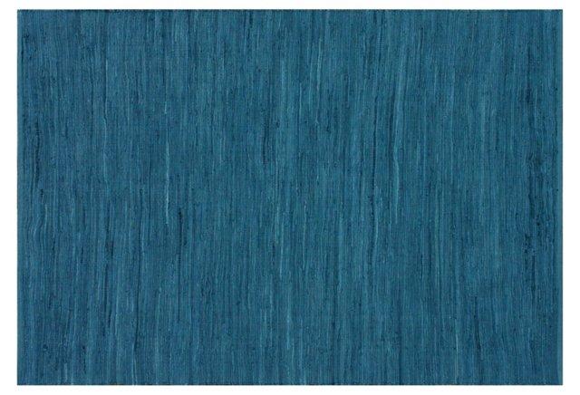 Ash Rug, Denim Blue