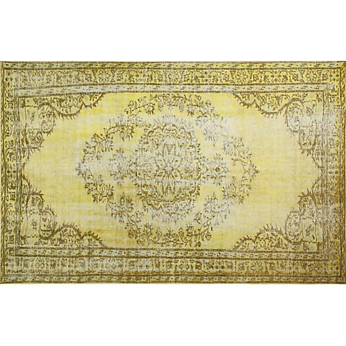 Genisa Overdyed Rug, Yellow