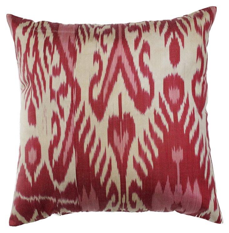 Kinley 18x18 Pillow, Magenta