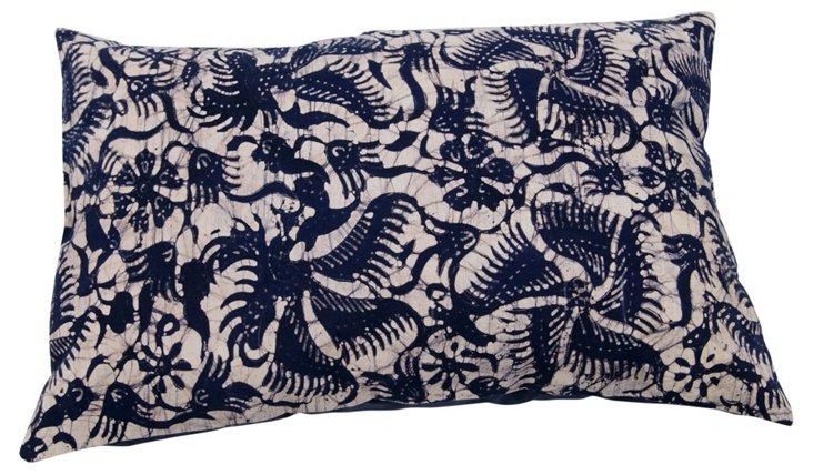 Girne 16x24 Pillow, Navy