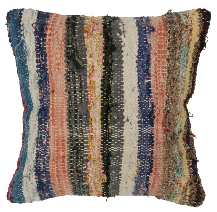 Honduras 16x16 Wool Pillow, Multi
