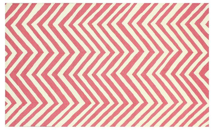 """8'6""""x11'6"""" Tymon Rug, Pink"""
