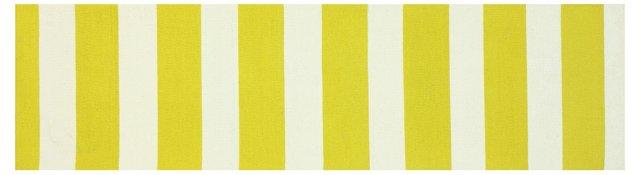 "2'6""x10' Lagan Runner, Yellow"