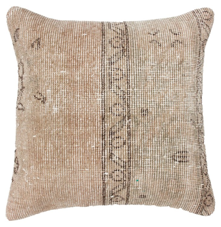 Lined 20x20 Pillow, Natural/Light Tan