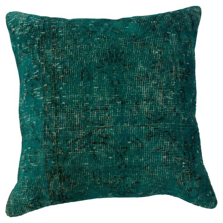 Treetop 20x20 Pillow, Pine Green