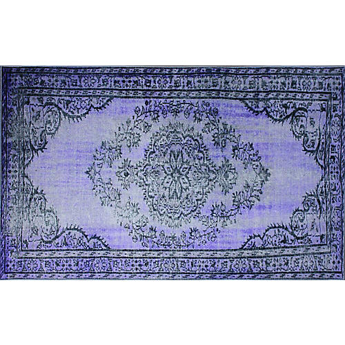 Genisa Overdyed Rug, Purple