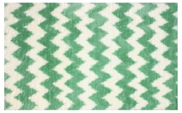 Regina Shag Rug, Light Green