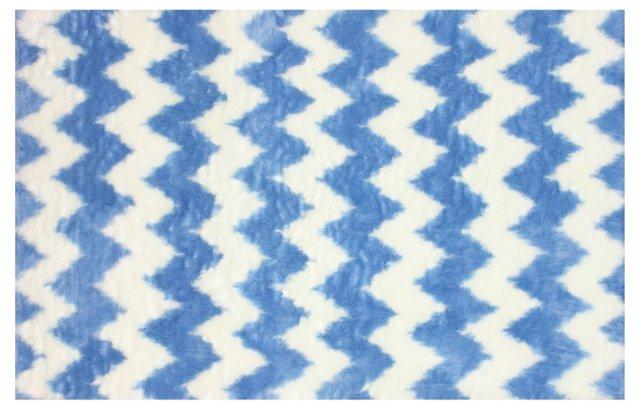 Regina Shag Rug, Blue